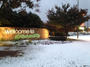 greenville snow